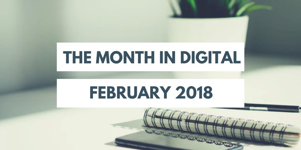 Digital Skills blog monthly round up February 2018